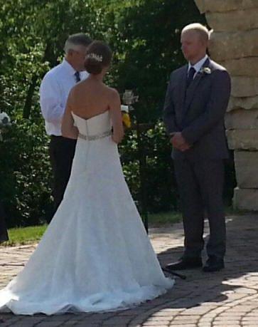 2016 Wedding Ceremony, Coralville, IA