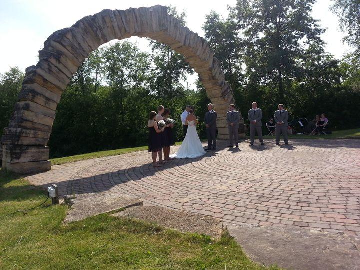 2016 Wedding Ceremony, Coralville, IA Brown Deer Golf Club