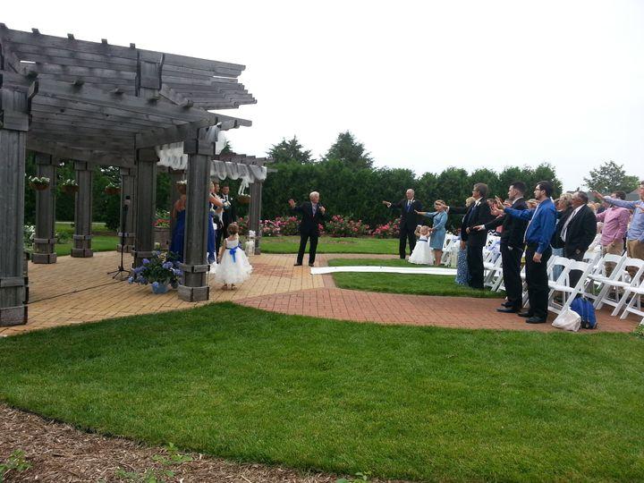 2015 Wedding Ceremony, Arboretum, Waterloo, IA