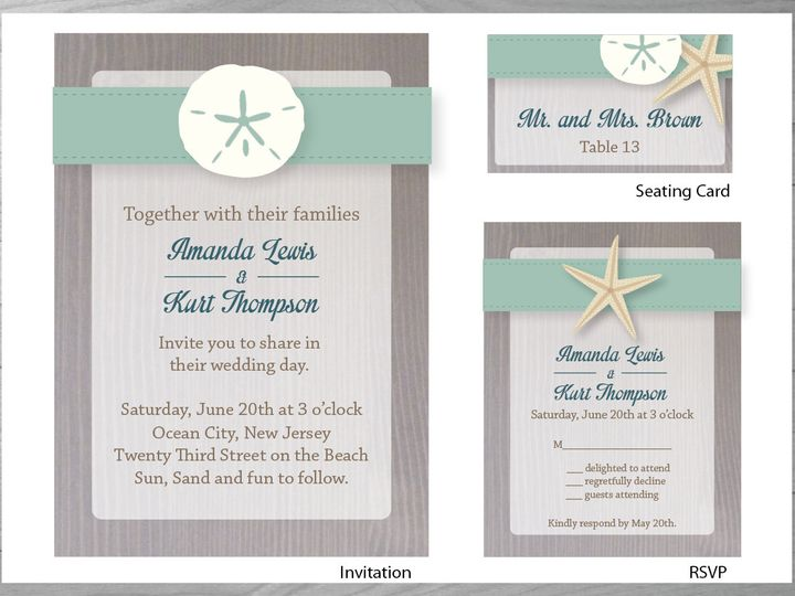 Tmx 1386126884742 Beachwedding 0 York wedding invitation