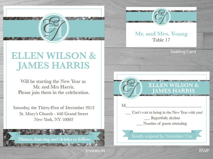 Tmx 1386126966133 Newyearwedding 0 York wedding invitation