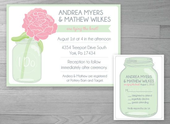Tmx 1386127040990 Weddingjar 0 York wedding invitation