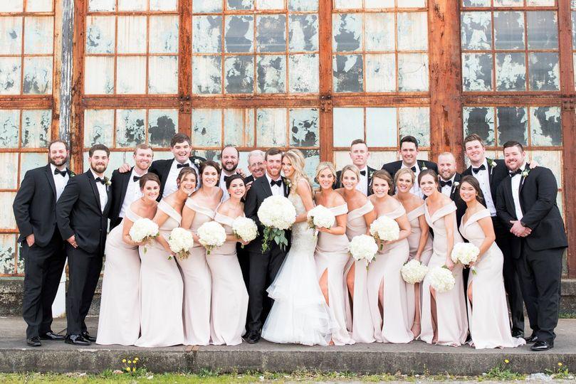 Southern Bleachery Wedding
