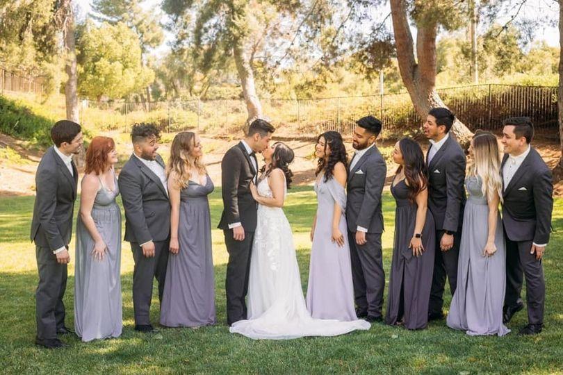 BRIDE GLAM WEDDING DAY