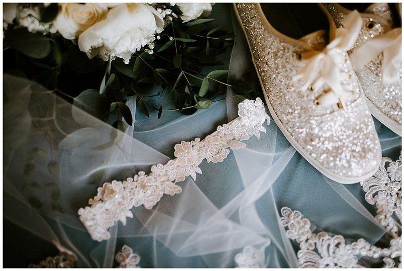 Bridal sneakers | Sarah Mosher Photography