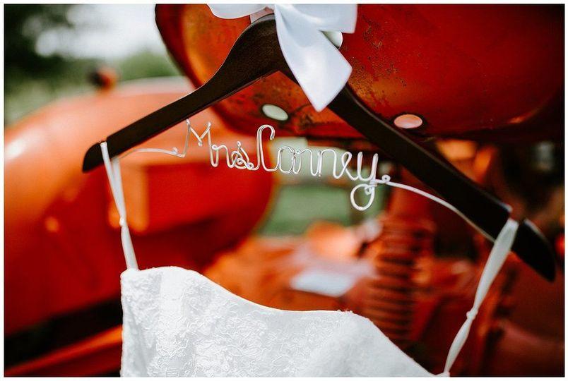 Wedding dress | Sarah Mosher Photography