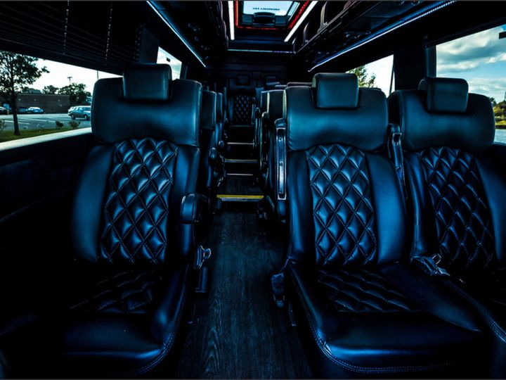 Tmx Limo Sprinter Interior 51 1030129 V1 Hightstown, New Jersey wedding transportation