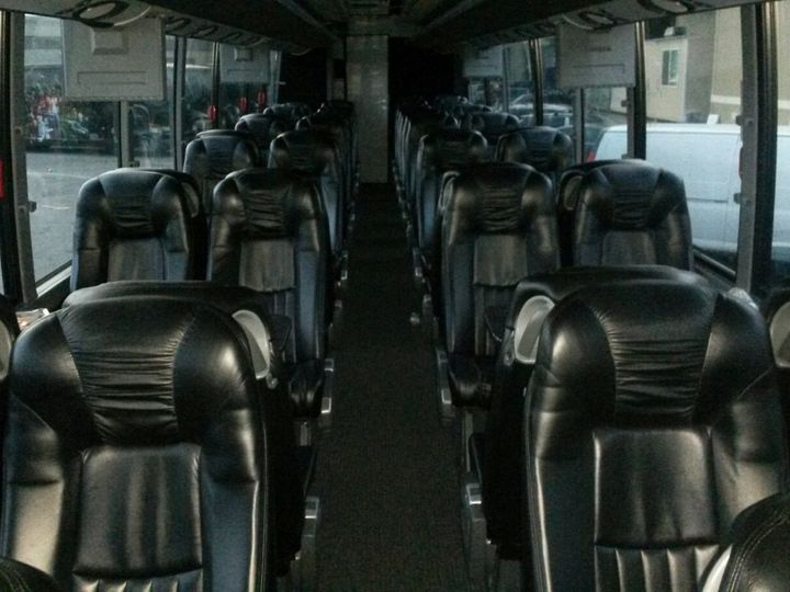 Tmx Lux Coach Bus Interior 51 1030129 Hightstown, New Jersey wedding transportation