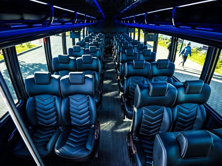 Tmx Lux Mini Bus Interior 2 51 1030129 V1 Hightstown, New Jersey wedding transportation
