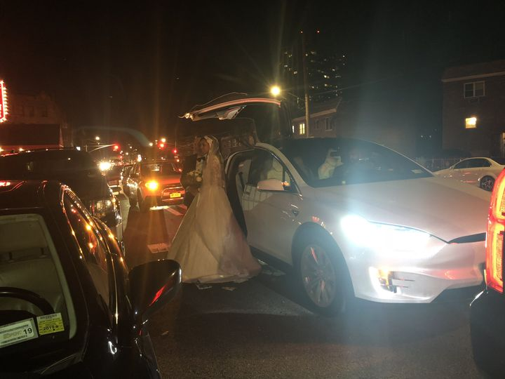 Tmx White Tesla 51 1030129 V1 Hightstown, New Jersey wedding transportation
