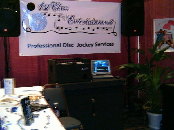 Our is equipment is very compact and able to be set up at any venue.  This picture was taken at a...