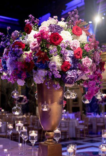 jewel tone wedding carnegie music hall reception 13 51 31129