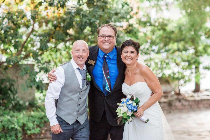 Wedding Couple with Mark!