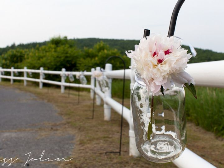 Tmx 1426365260351 Shepherd Hooks W Mason Jars Mashpee wedding dress
