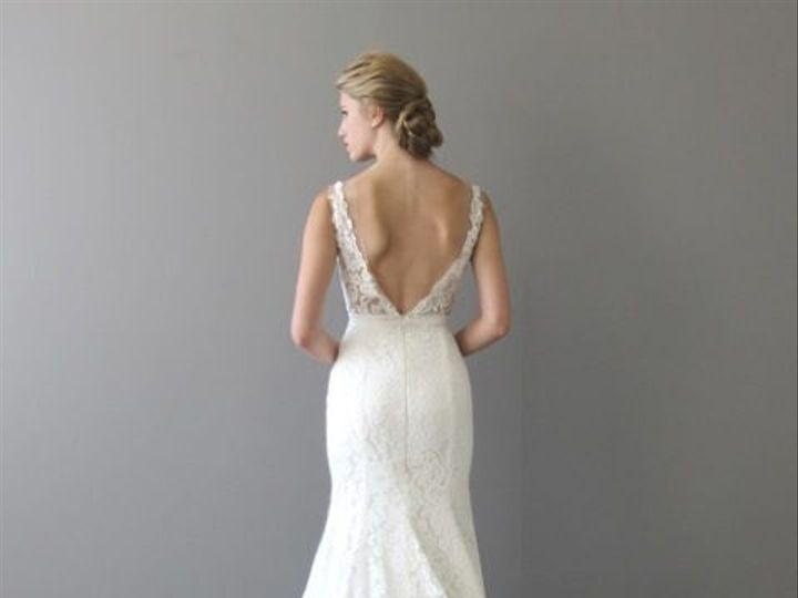 Tmx 1520017521 B3eacb2e9d54be89 1520017519 Fa8d7977f53c4db6 1520017518995 11 Cora Back Mashpee wedding dress