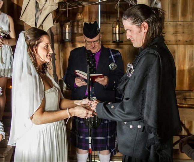 Kilted Wedding