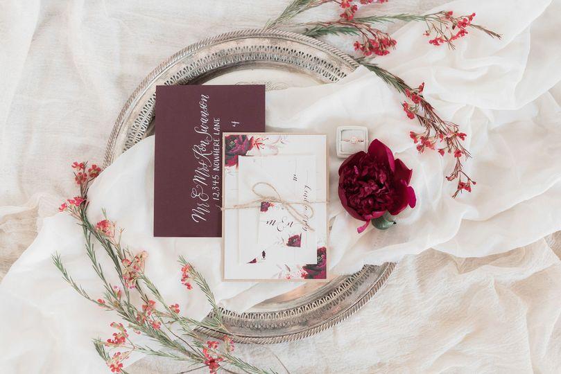Rustic Wedding Invitaiton