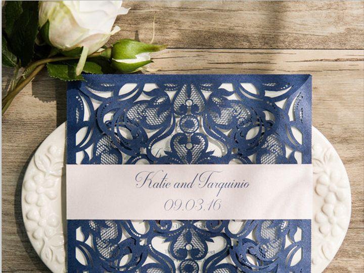 Tmx 1498943501762 Image Pelham, NH wedding invitation