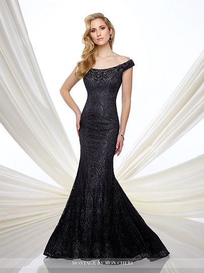Flowing gown