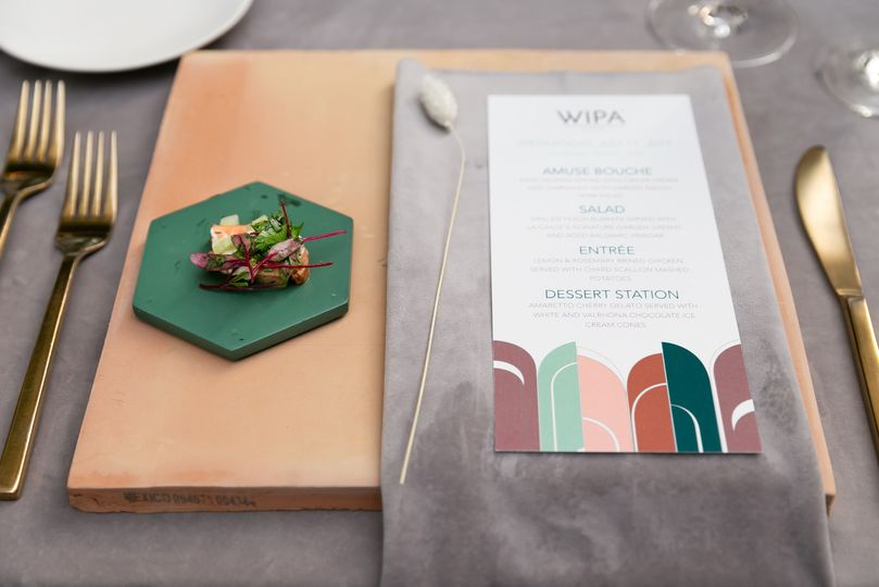 Wipa placesetting