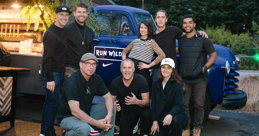 Booze Truck team at Nike event