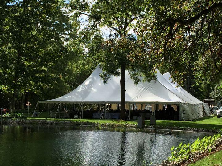 60x100 twin pole tent