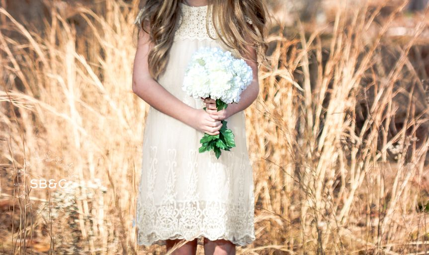 Flower girl dress: the claire