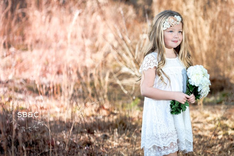 Flower girl dress: the claire: