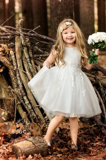 Flower girl dress: the madison