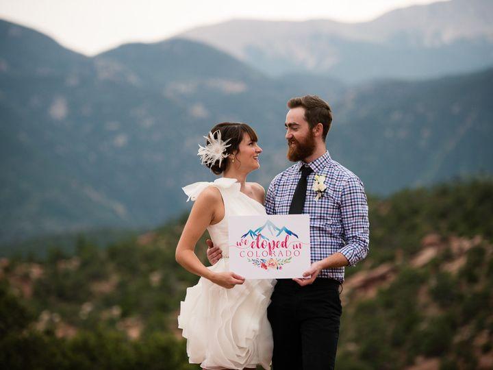Tmx 1512861108150 Custom Elopement Signage Colorado Designs By Sarah Broomfield, Colorado wedding invitation
