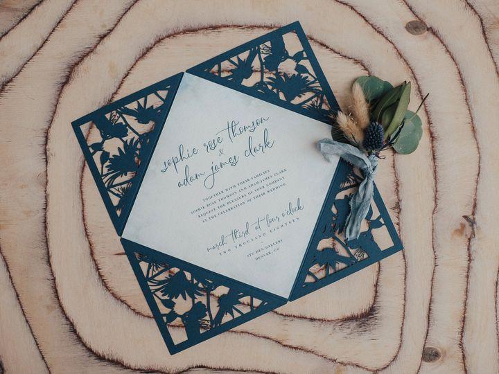 Tmx Couture Colorado 176 Retouched 51 933229 Broomfield, Colorado wedding invitation