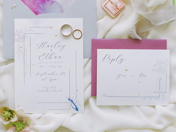 Tmx Dani Cowan Photography Camp Hale Vail Colorado Wedding Rockymountainbride19 Cropped 51 933229 Broomfield, Colorado wedding invitation