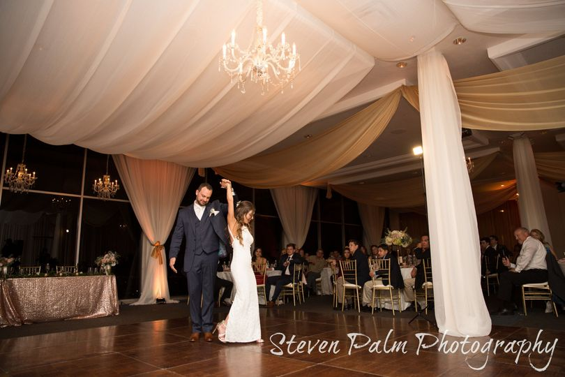 First dance at skyline country club