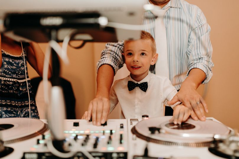 Little DJ has his moment