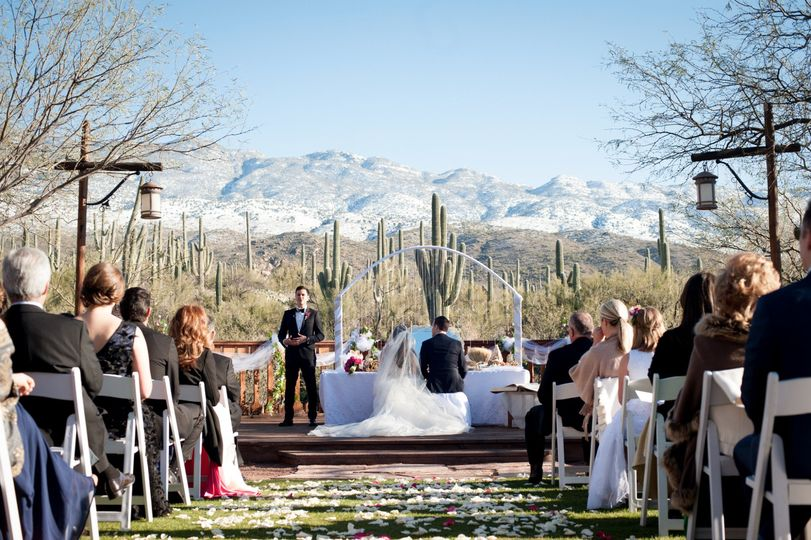Ceremony & Mountain Views