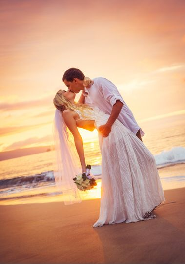 Married at sunset