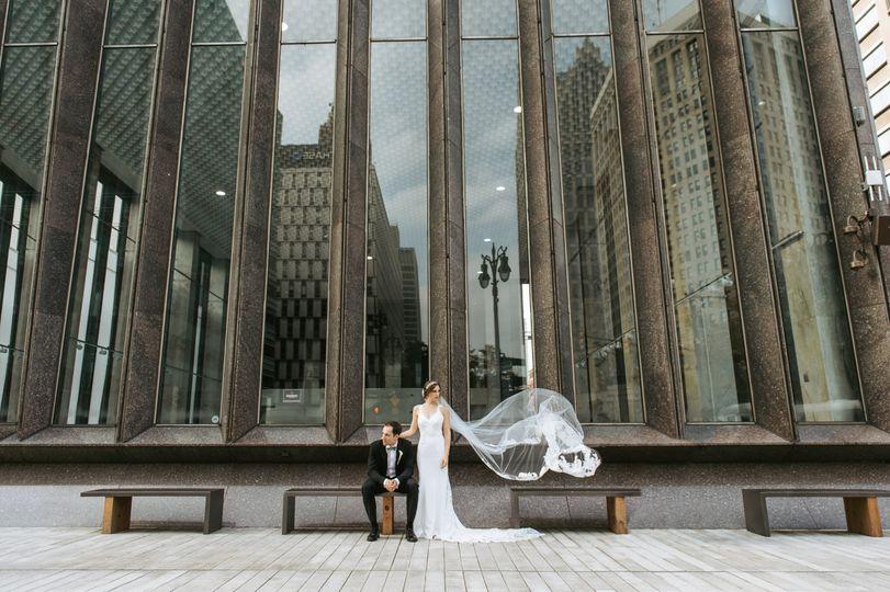 Brianna  Detroit Wedding
