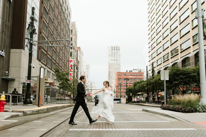 Detroit Wedding makeup and Hai