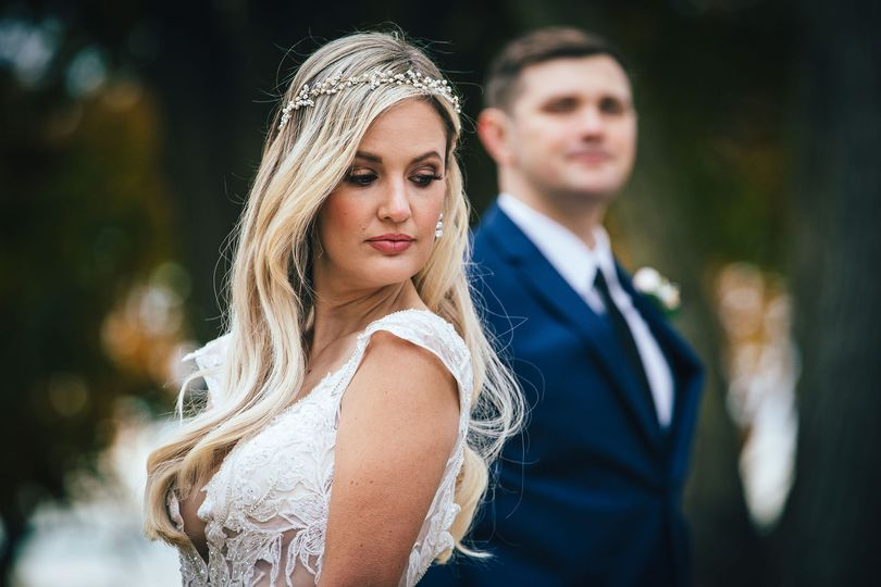 Editorial bridal makeup