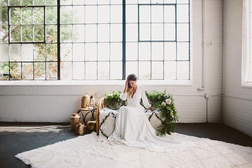 The Bride in the Edison Room