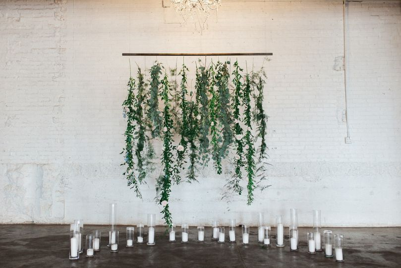 White Ceremony Wall