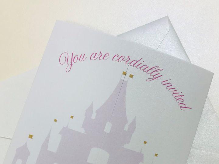 Tmx Castle 51 1096229 159605020632608 Bronx, NY wedding invitation
