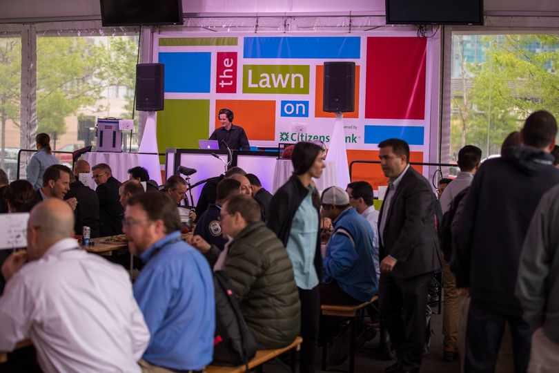 600+ Attendees at Lawn On D