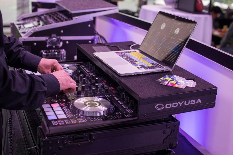 DJ Joe K Mixing