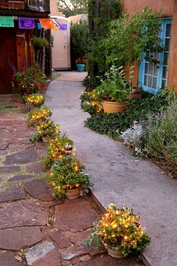 Our garden path entrance
