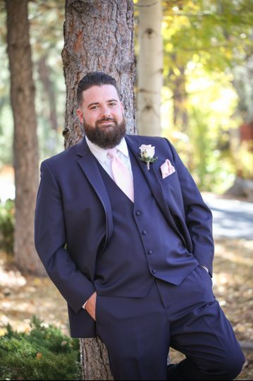 Dapper groom