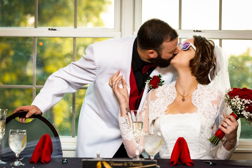 Kiss at the Head Table