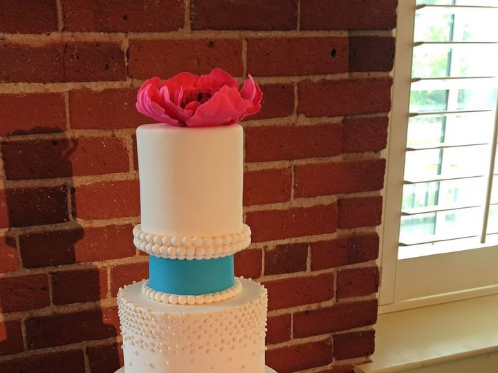 Tmx 1447273401761 Cynthia  George New London, NH wedding cake