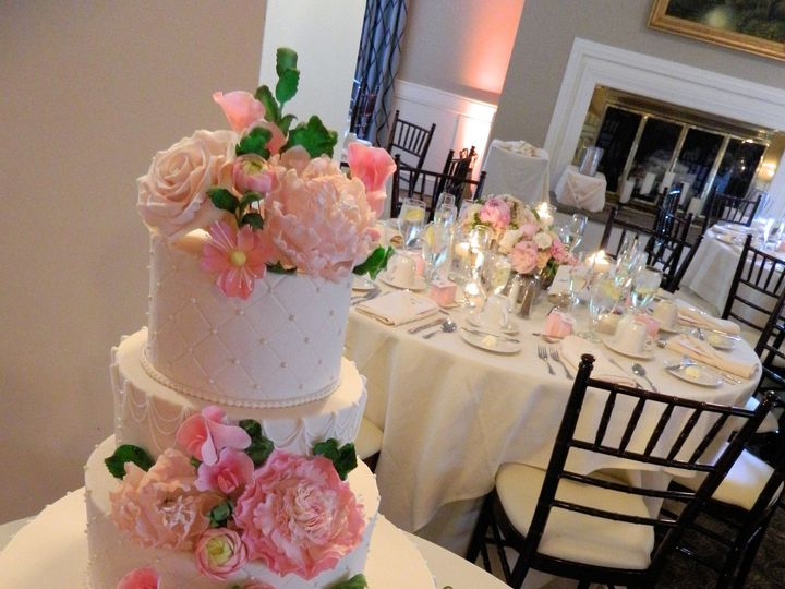 Tmx 1449098896486 Allison  Kyle Quechee, Vermont wedding cake