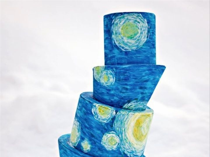 Tmx 1449099601914 Starry Night Quechee, Vermont wedding cake